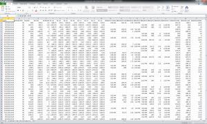 Acme Market Study IB Breakout Data